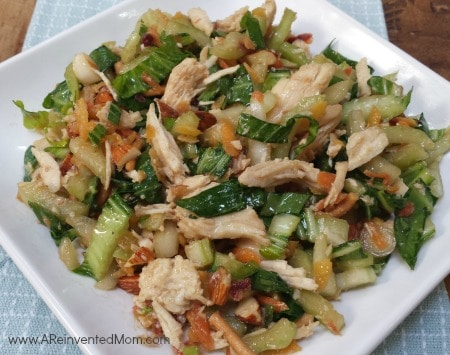 Bok Choy Salad with Ginger Sesame Soy Dressing   A Reinvented Mom