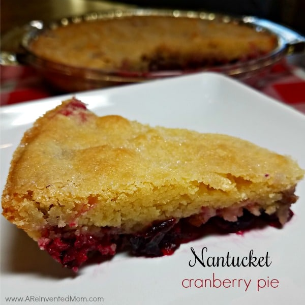 Nantucket Cranberry Pie   A Reinvented Mom