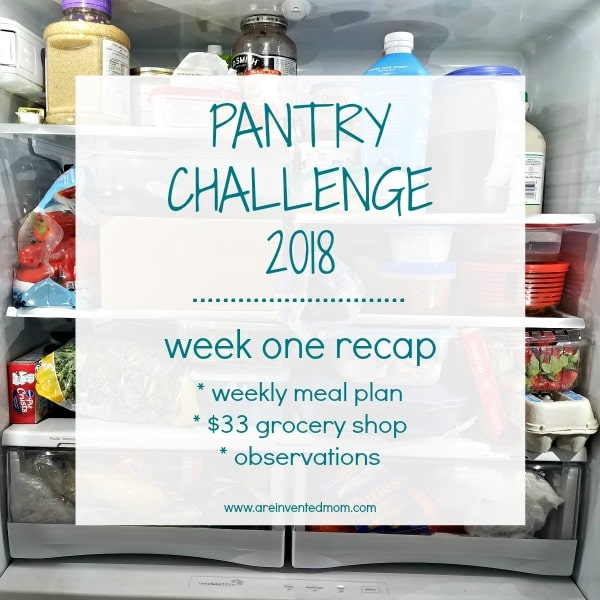 Pantry Challenge 2018 Feature | A Reinvented Mom