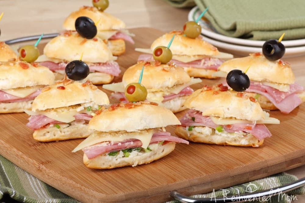 Using Leftover Party Food Party Sandwiches   A Reinvented Mom #partyleftovers #leftoverpartyfood